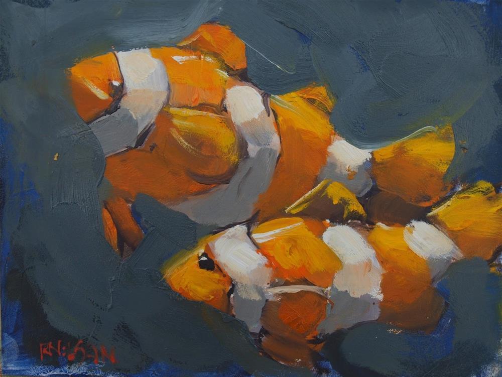 """""""Copyright Nemo"""" original fine art by Rick Nilson"""