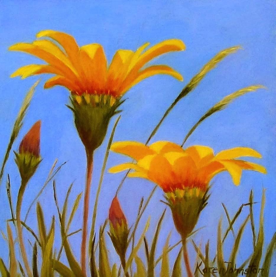 """Spring Celebration"" original fine art by Karen Johnston"