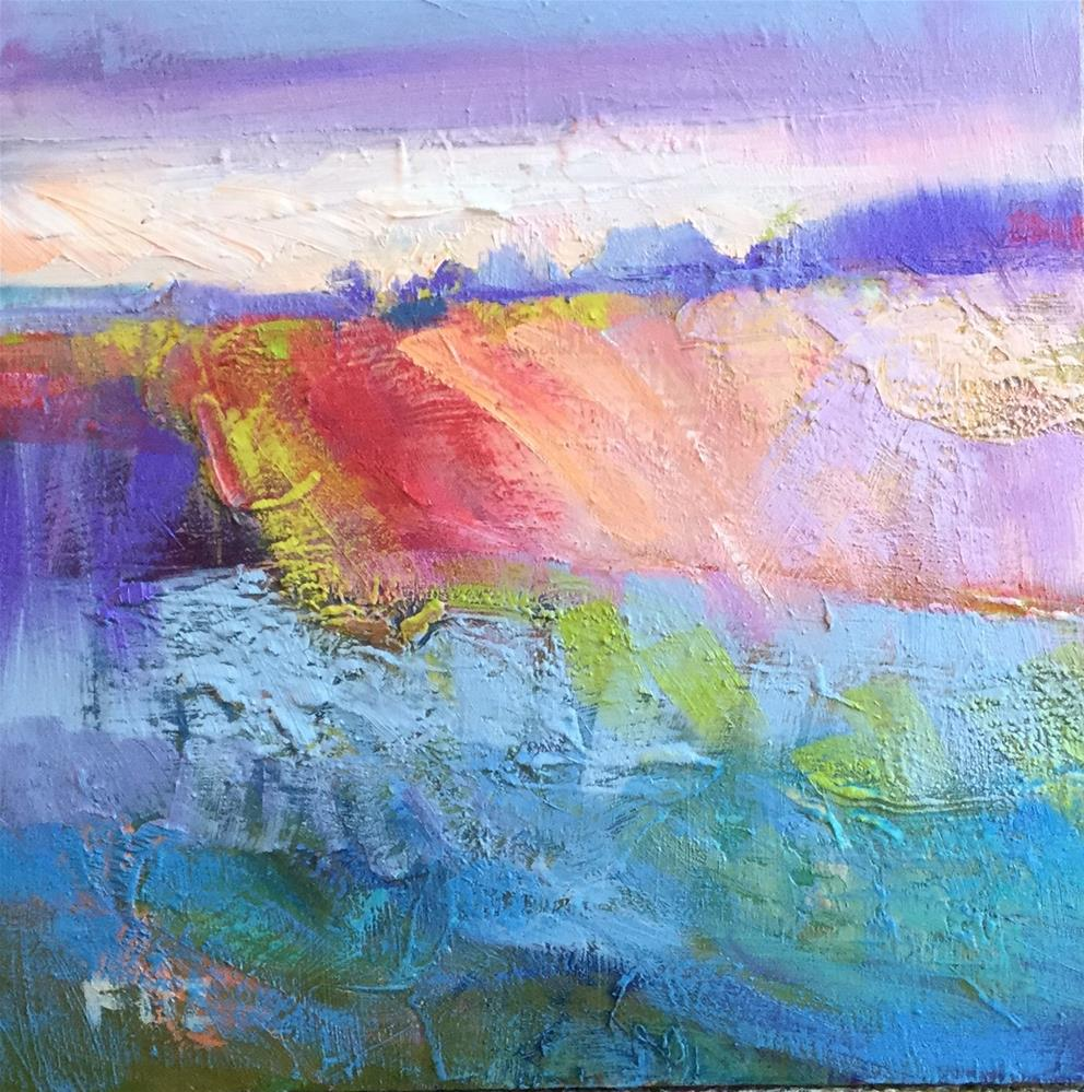 """""""Abstract 82"""" original fine art by Charlotte Fitzgerald"""