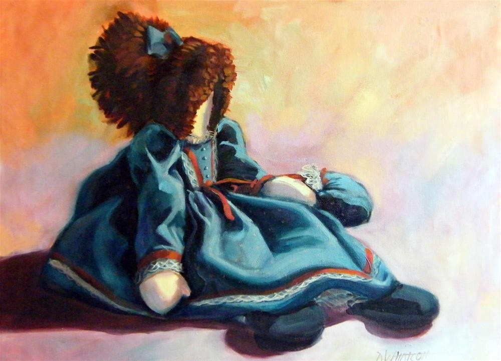 """Rag Doll"" original fine art by Donna Whatcott Parsons"