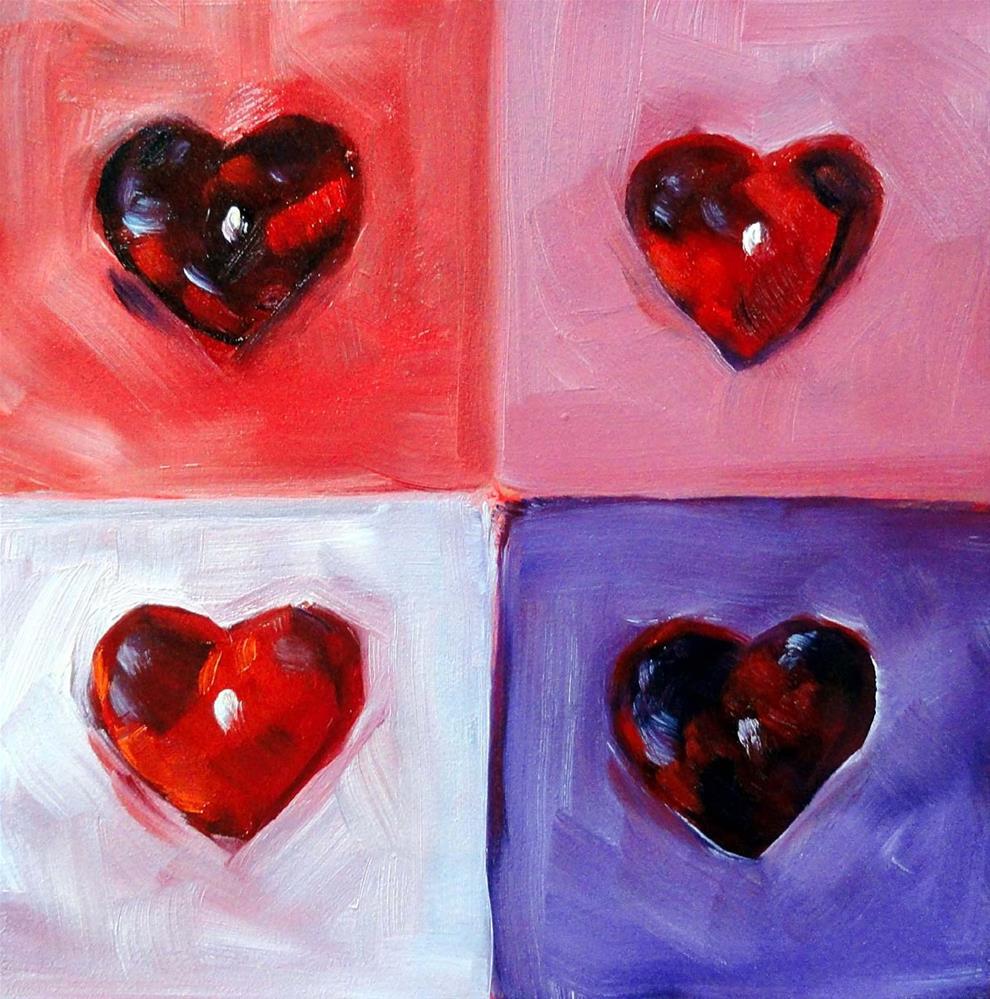 """Heart Attack"" original fine art by Cietha Wilson"