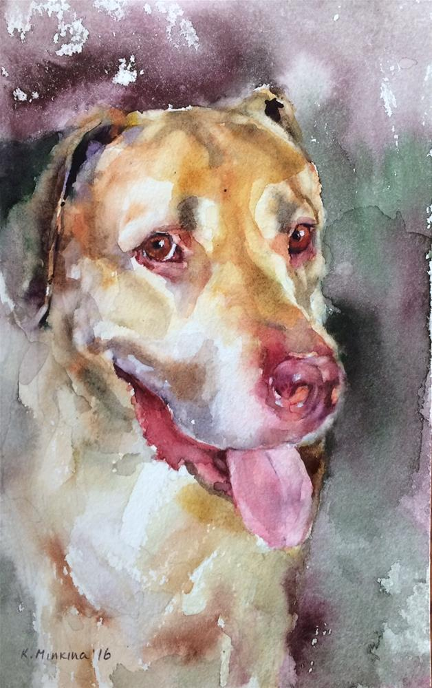 """adopt228-Nikita"" original fine art by Katya Minkina"