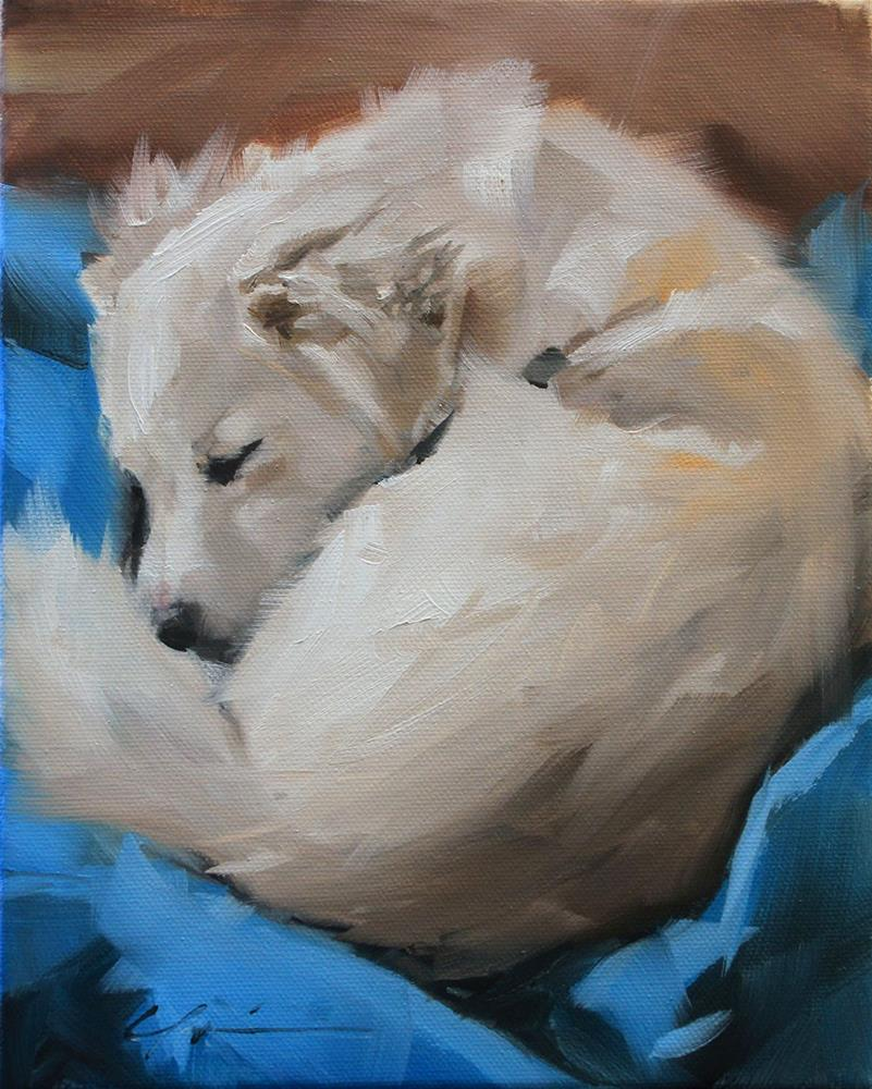 """The Daily Dog - Twenty Nine"" original fine art by Clair Hartmann"