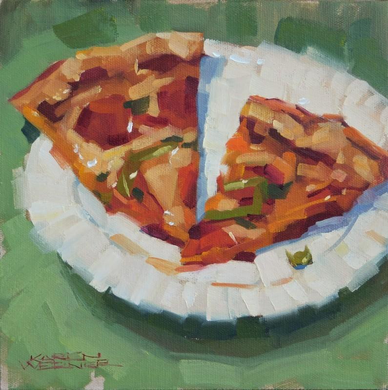 """""""Spicy Slices"""" original fine art by Karen Werner"""