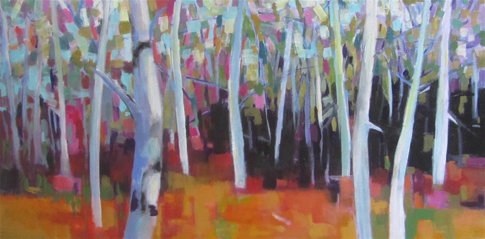 """Rockwood Variation"" original fine art by Patricia MacDonald"