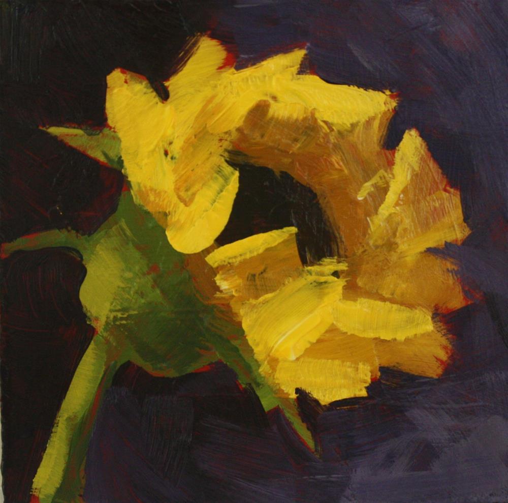 """""""Sunflower"""" original fine art by Shannon Bauer"""