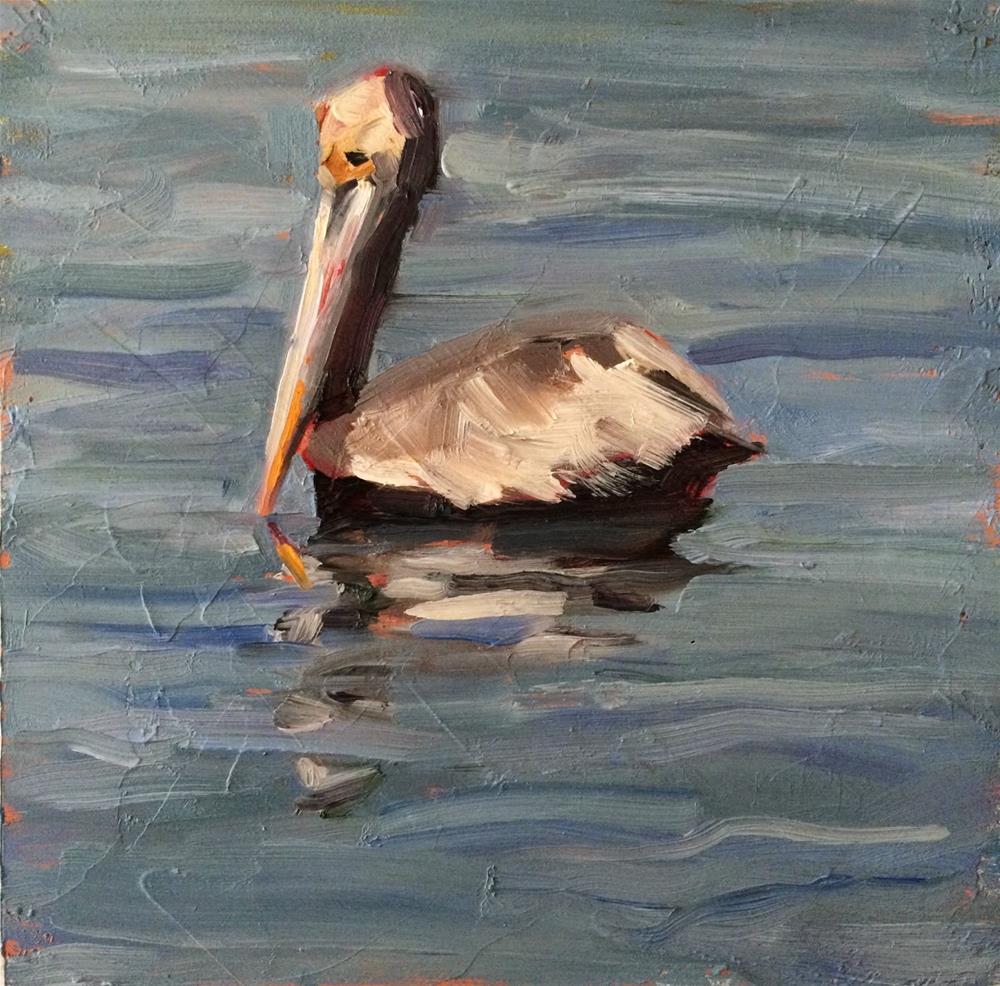"""Floating"" original fine art by Deborah Newman"