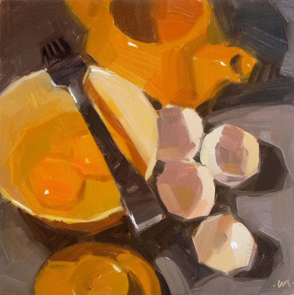 """""""Discarded Shells"""" original fine art by Carol Marine"""