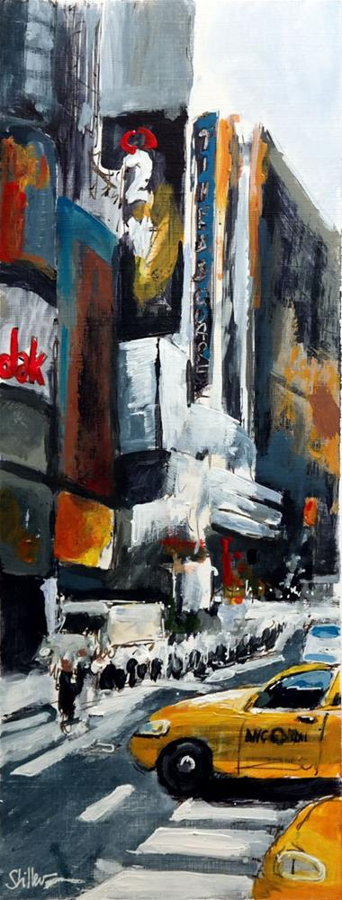 """2366 Times Square Part Three"" original fine art by Dietmar Stiller"