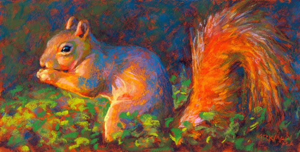 """Spencer Yum-Yum - day 11"" original fine art by Rita Kirkman"
