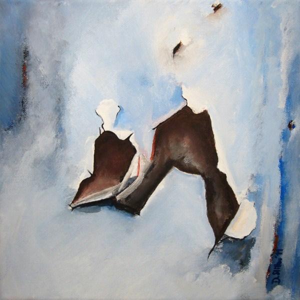 """0032 The Varnish is Gone - Der Lack ist ab"" original fine art by Dietmar Stiller"