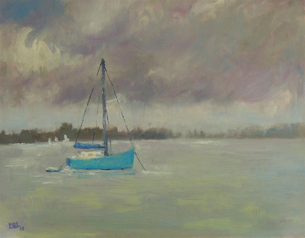 """""""Rainy Tuesday"""" original fine art by Doreen Lepore"""