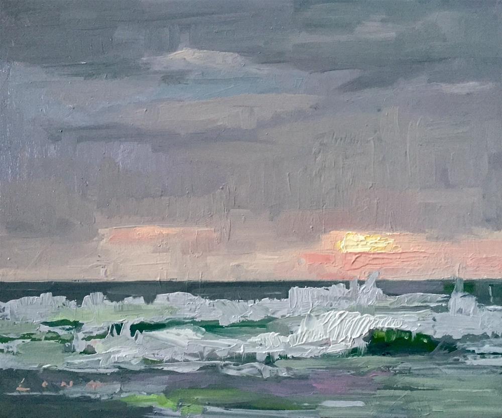 """Pacific Silver"" original fine art by Chris Long"