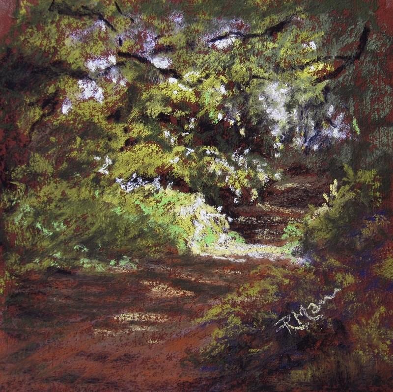 """""""Light Study 2"""" original fine art by Ruth Mann"""
