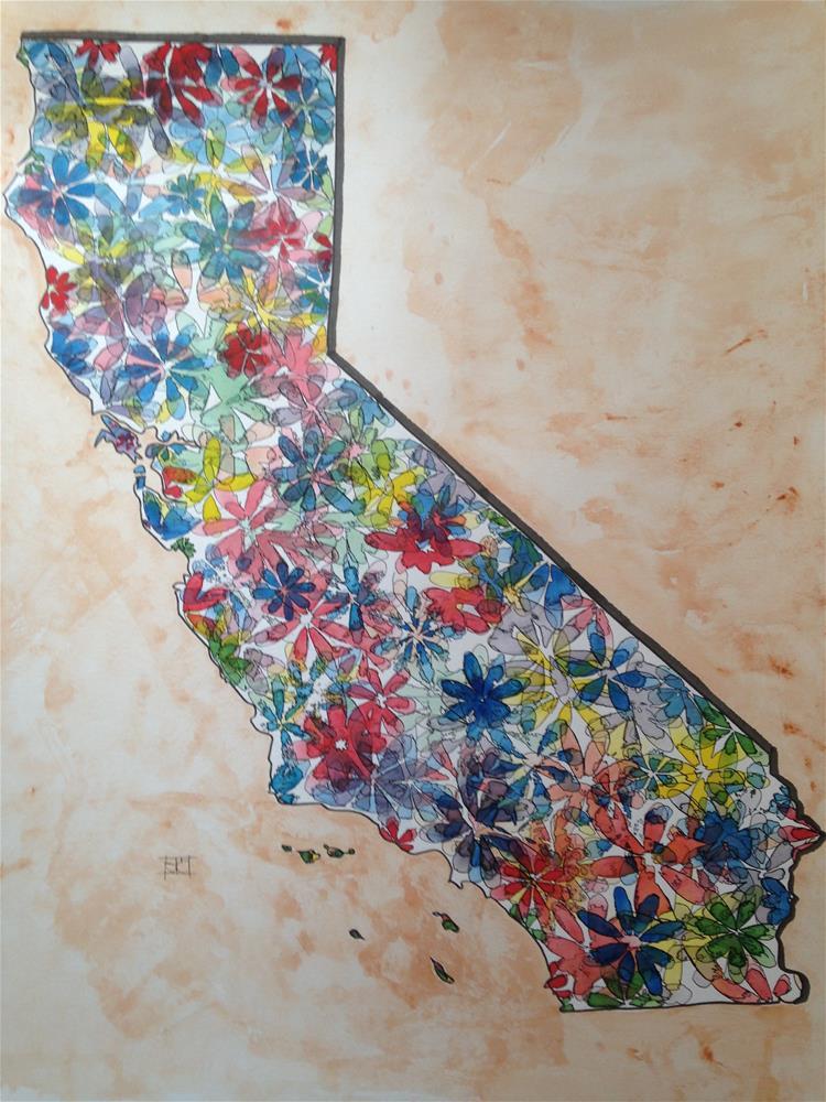 """""""California"""" original fine art by Arron McGuire"""