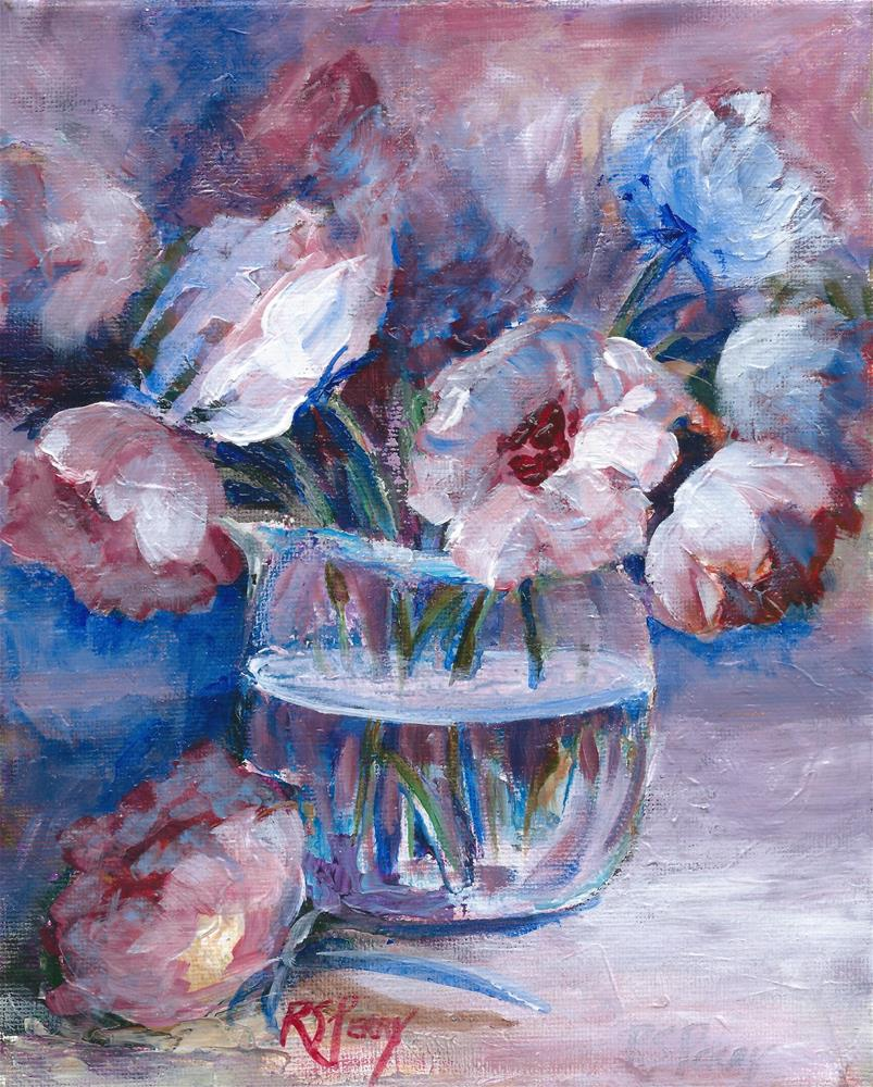 """Rose Impressions."" original fine art by R. S. Perry"