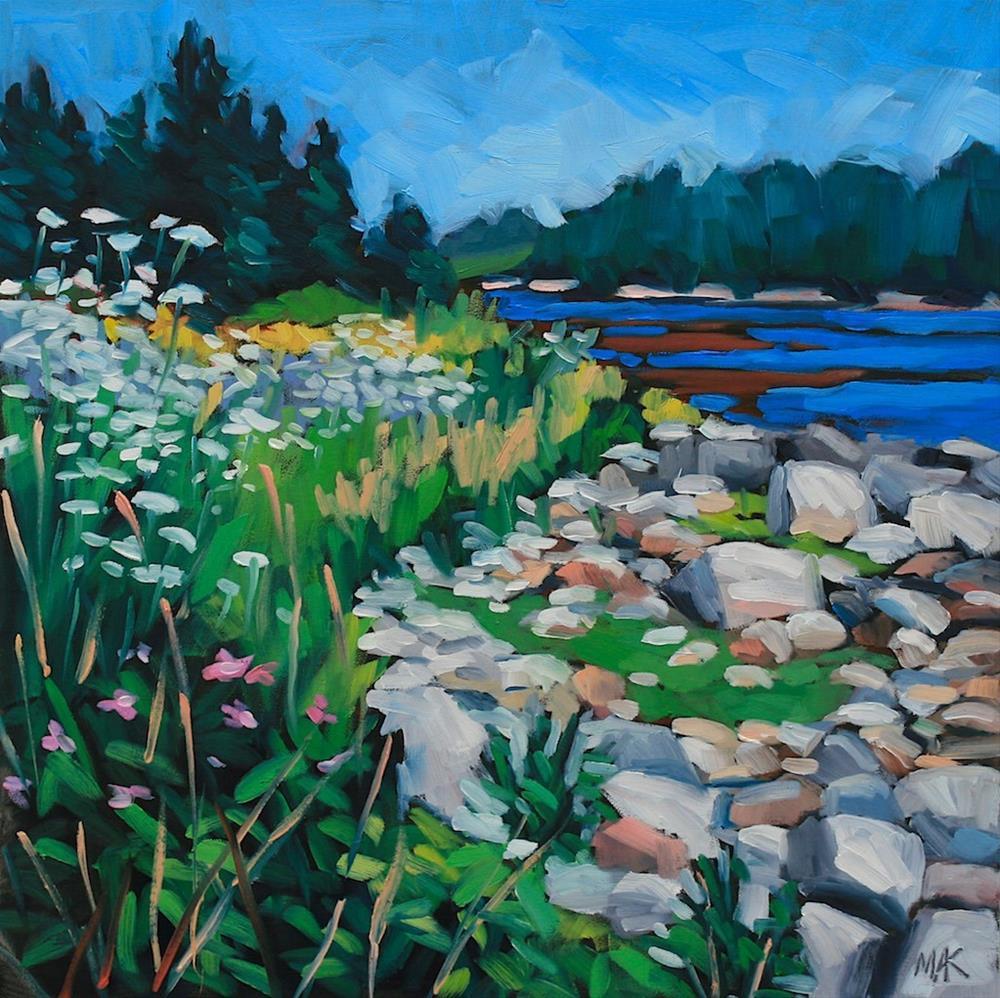 """Island Life"" original fine art by Mary Anne Cary"