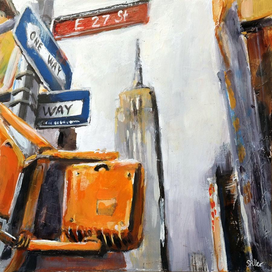"""3151 Empire State Building"" original fine art by Dietmar Stiller"