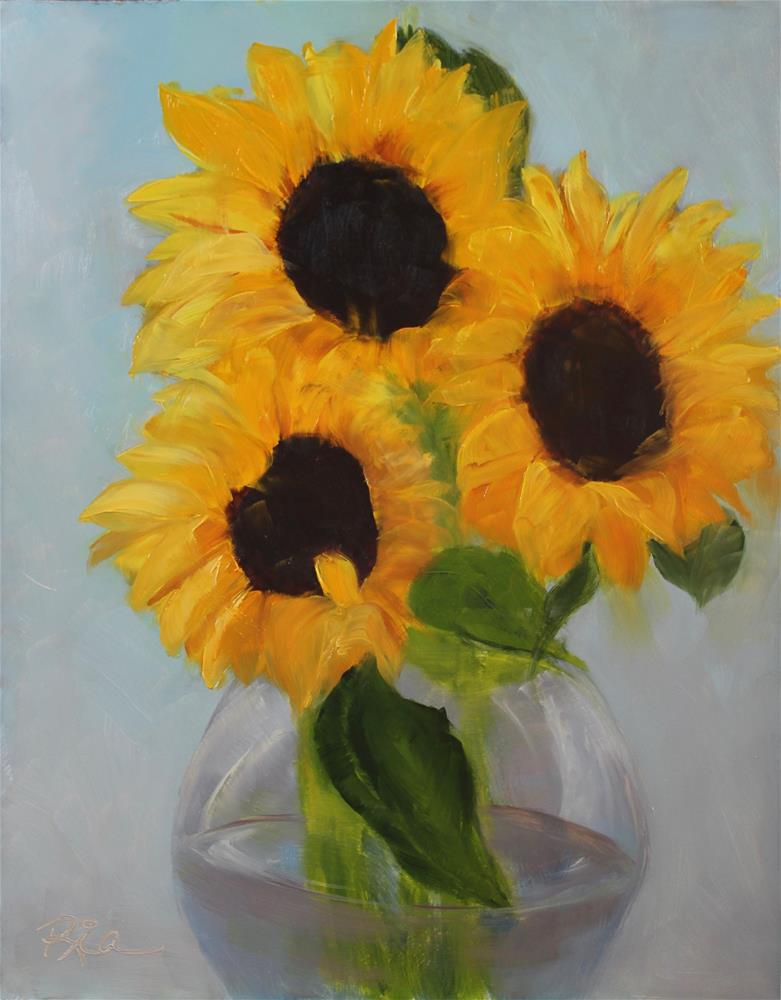 """Tuscan Sun"" original fine art by Maria Reed"