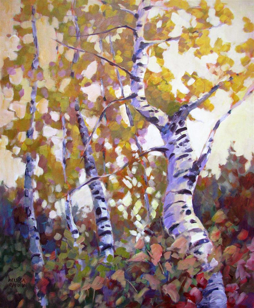 """Autumn Mixer"" original fine art by Melissa Gannon"