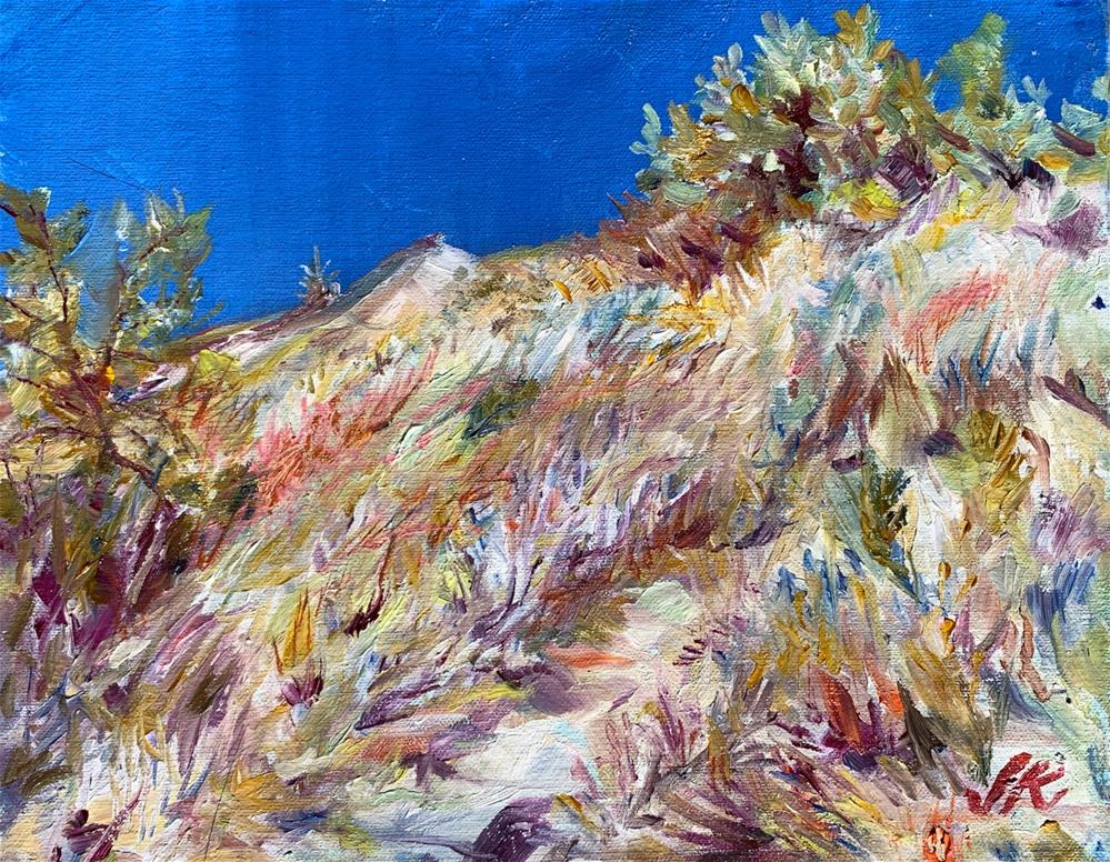 """Victor, Colorado"" original fine art by Jean Krueger"