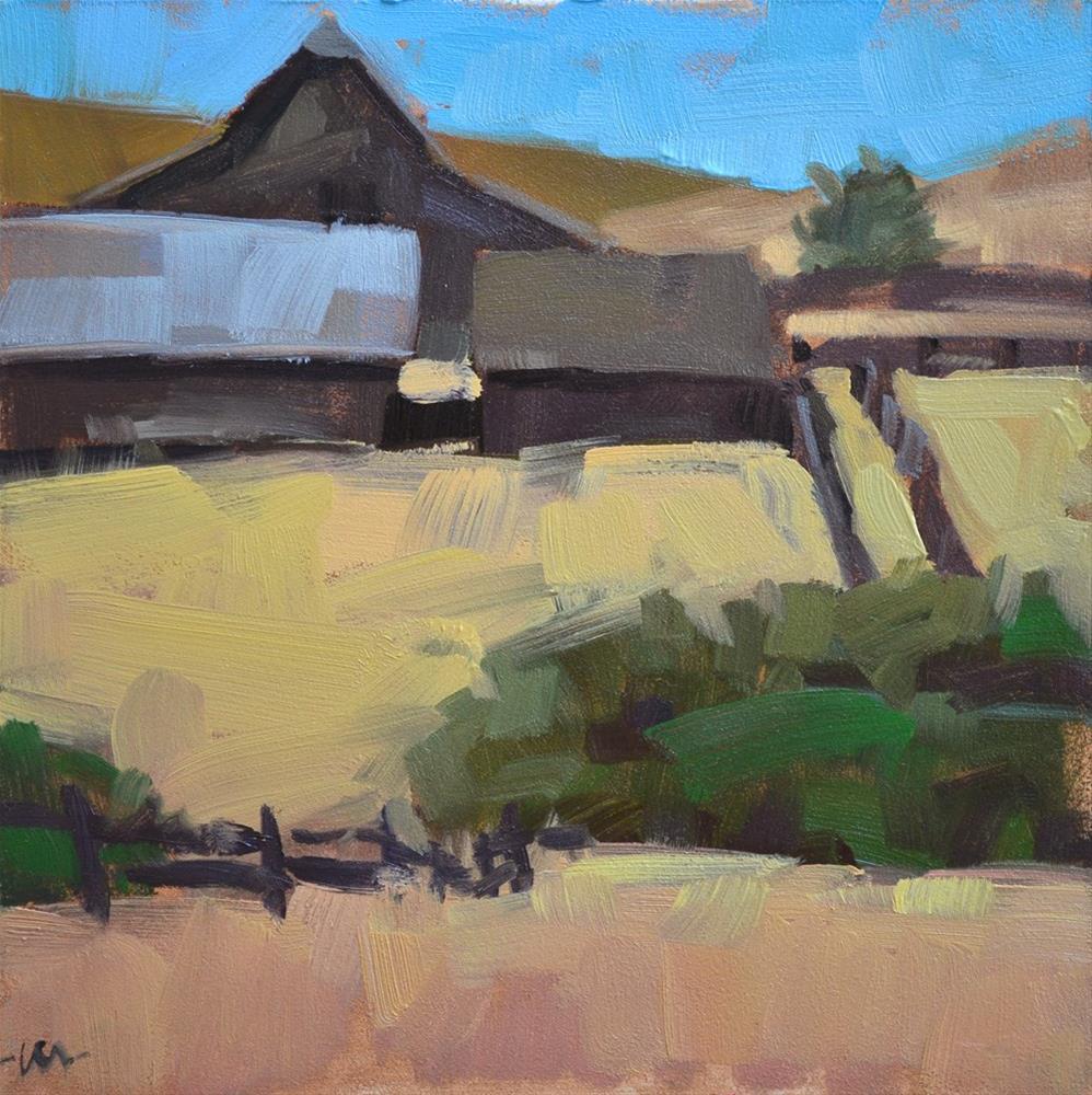 """Carefully Cordoned"" original fine art by Carol Marine"