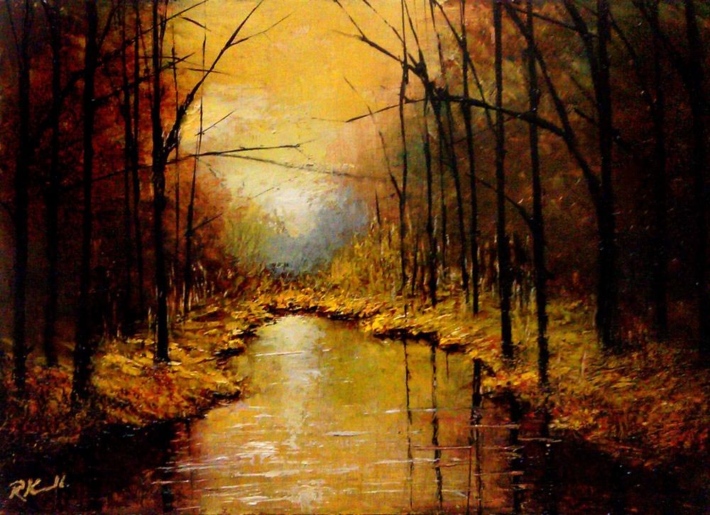 """""""The Virgin River, Utah"""" original fine art by Bob Kimball"""