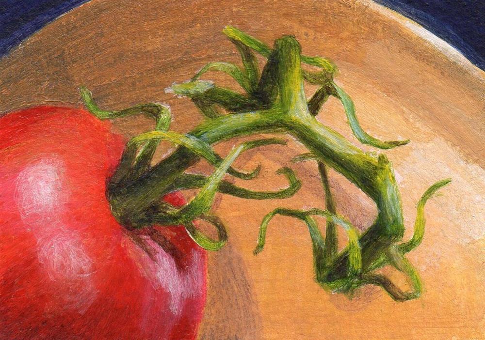 """""""Twisting"""" original fine art by Debbie Shirley"""