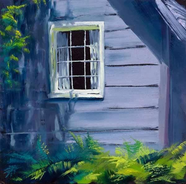 """""""Shadow Play"""" original fine art by Brenda Ferguson"""