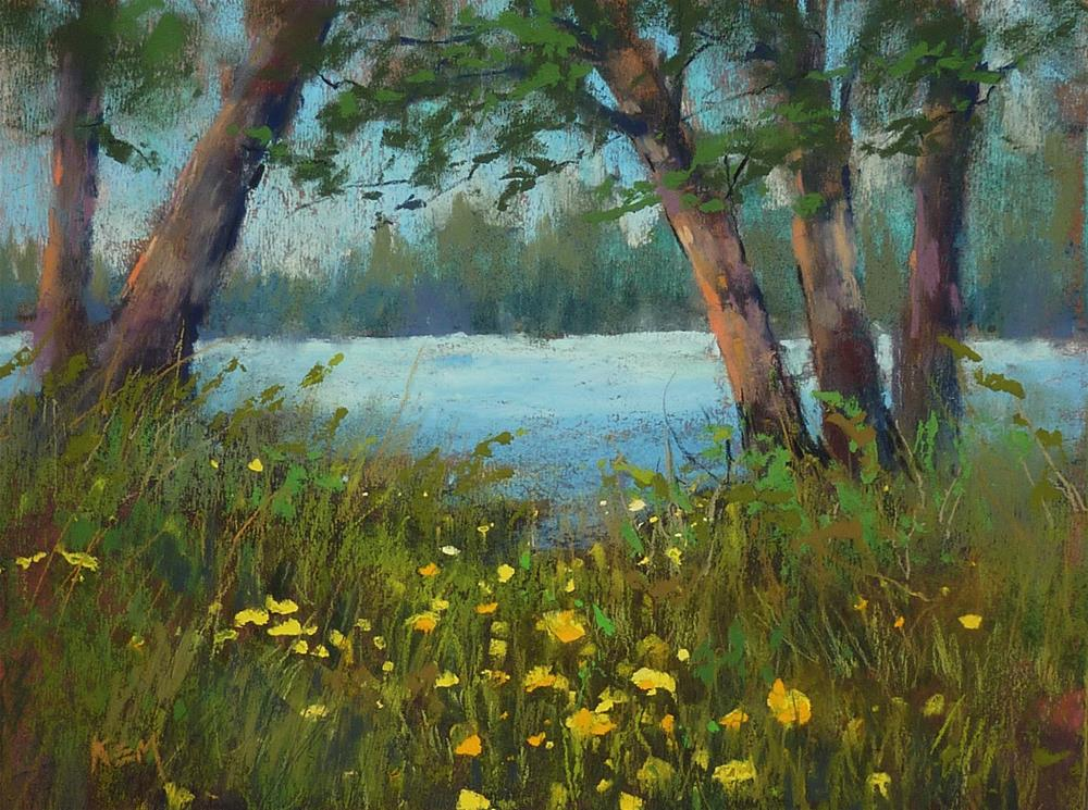 """""""What 10 minutes can do for your Painting"""" original fine art by Karen Margulis"""