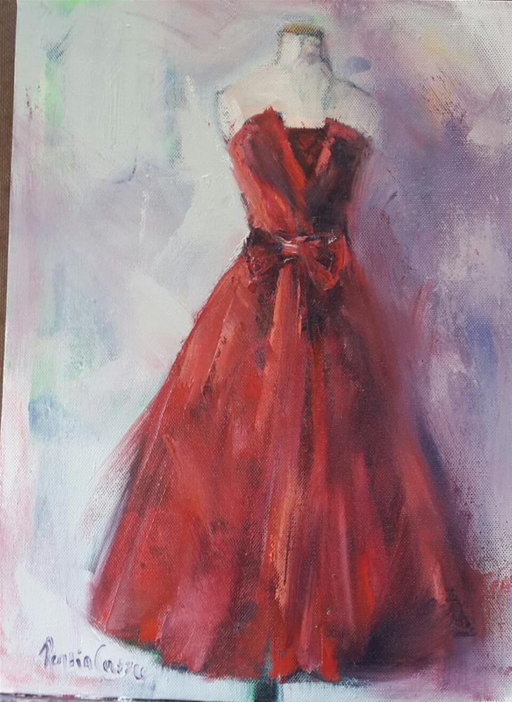 """The scarlet letter"" original fine art by Rentia Coetzee"