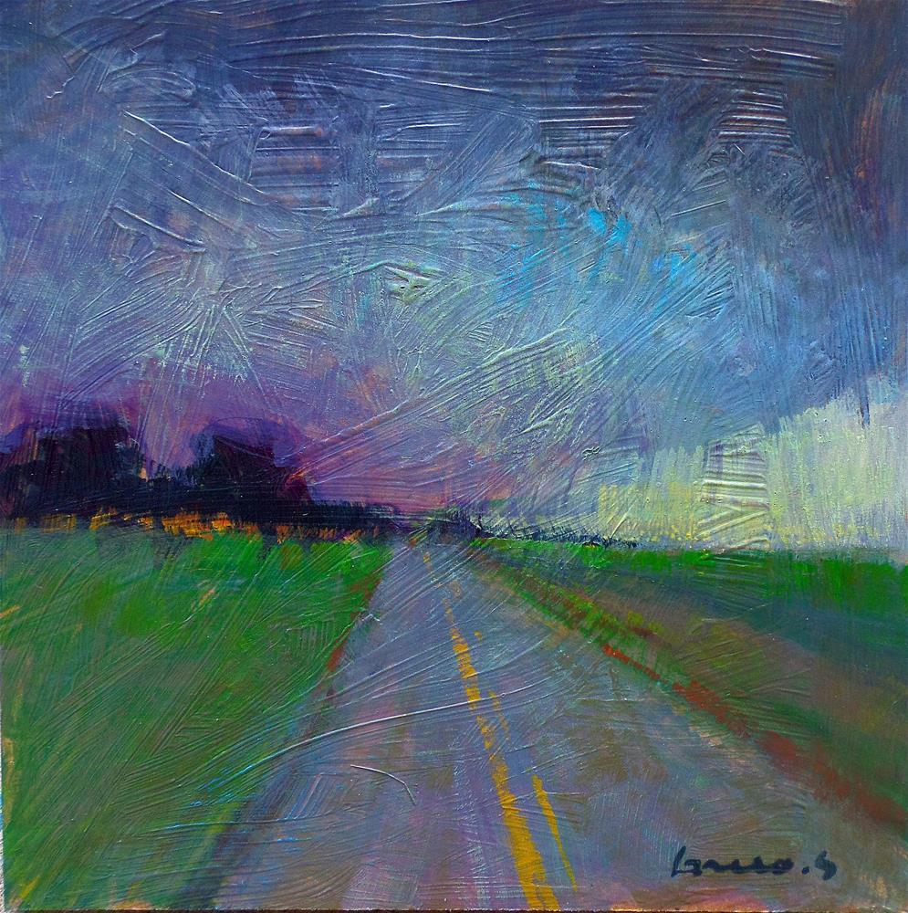 """""""The road"""" original fine art by salvatore greco"""