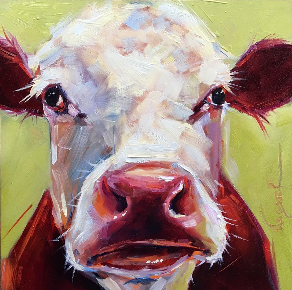 """Snout II"" original fine art by Olga Wagner"