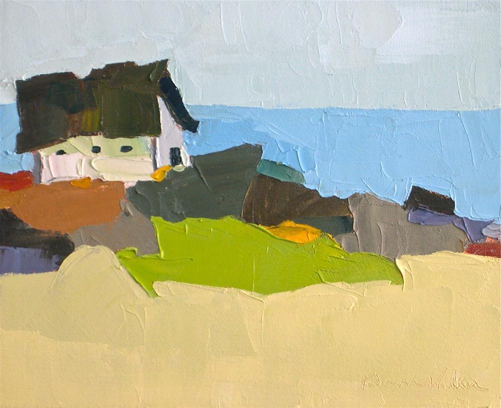 """Coastal Living"" original fine art by Donna Walker"