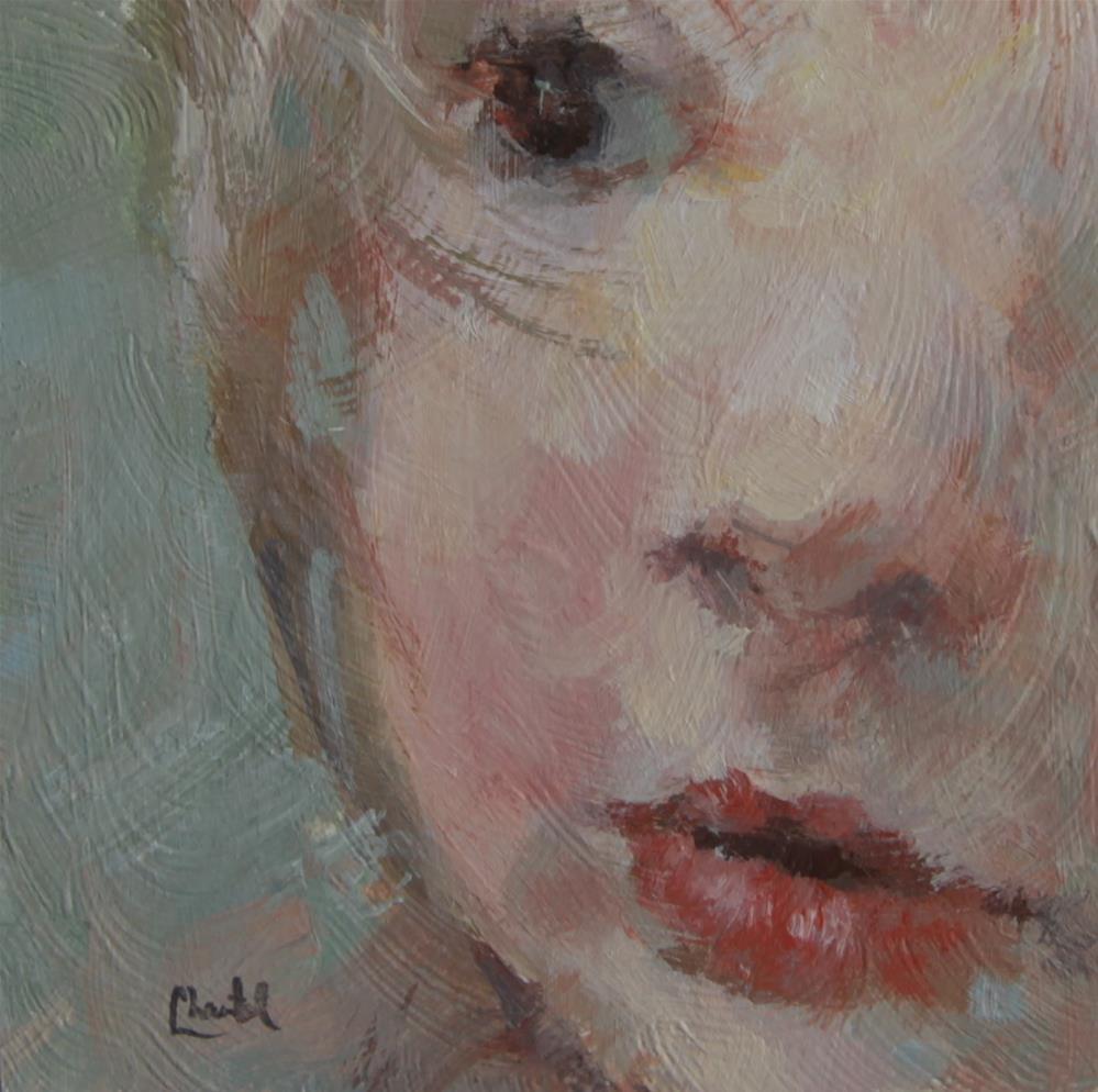 """Being Me"" original fine art by Chantel Barber"