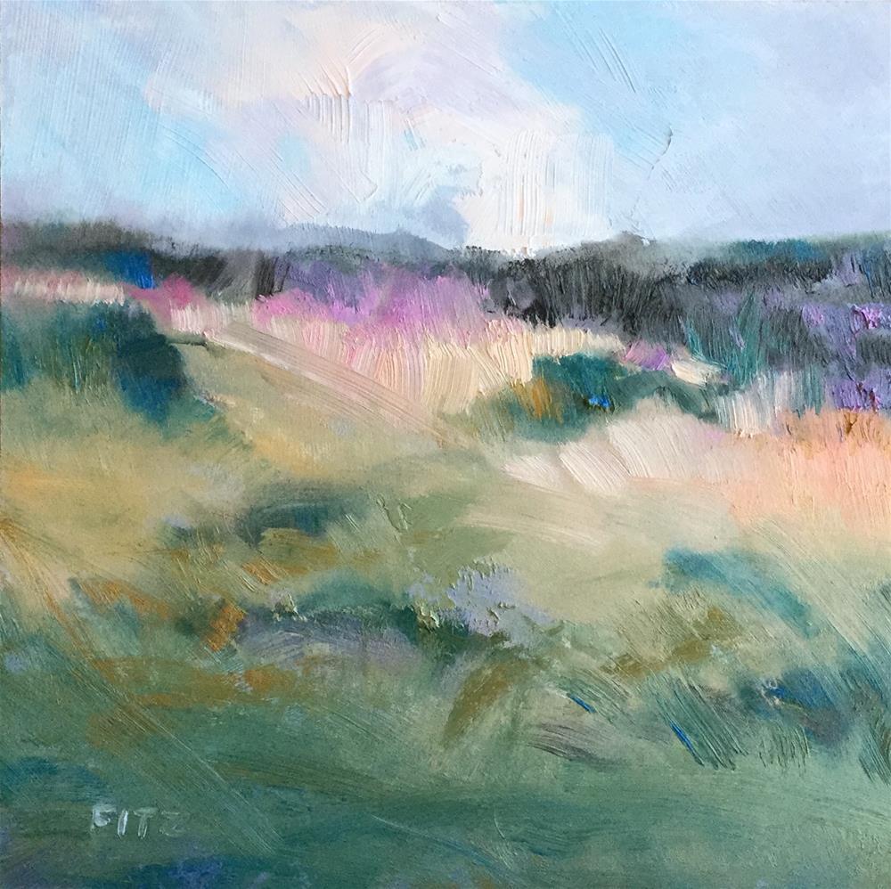 """Moody View"" original fine art by Charlotte Fitzgerald"