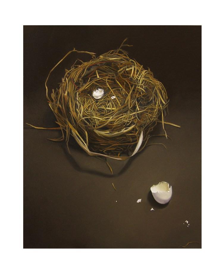 """Empty Nest 8x10"" original fine art by M Collier"