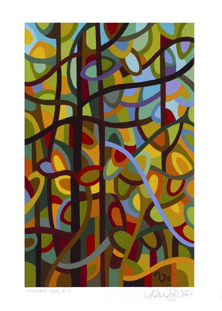 """Landscape Study #13"" original fine art by Mandy Budan"