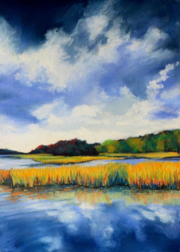 """""""Storm Light"""" original fine art by Jill Bates"""