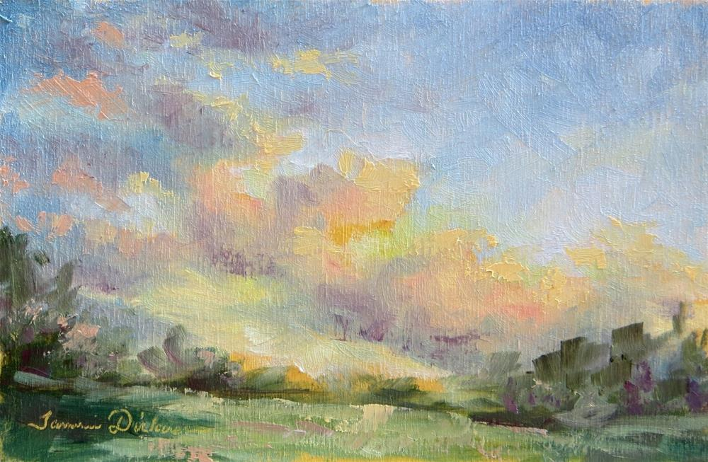 """""""Late Afternoon Light"""" original fine art by Tammie Dickerson"""