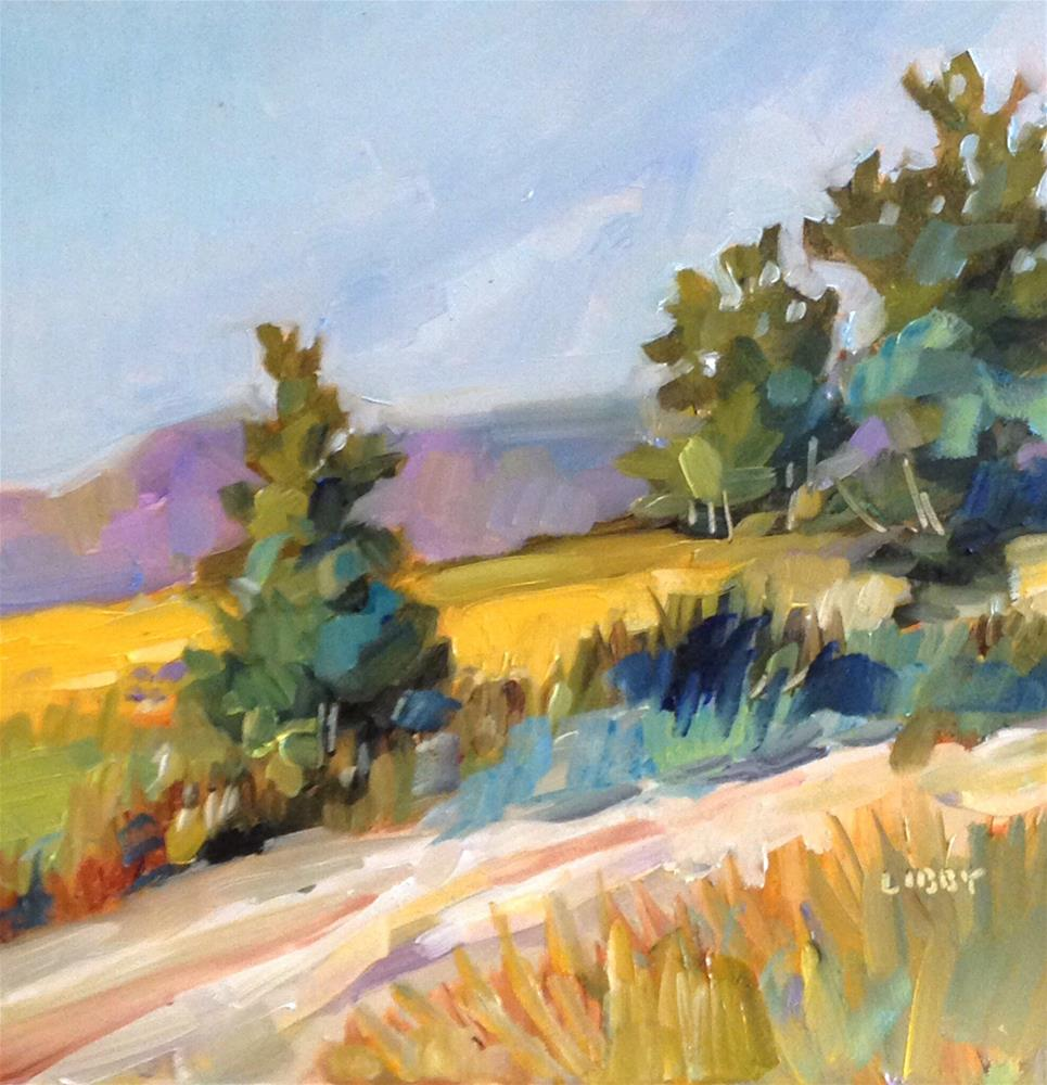 """Homeland"" original fine art by Libby Anderson"