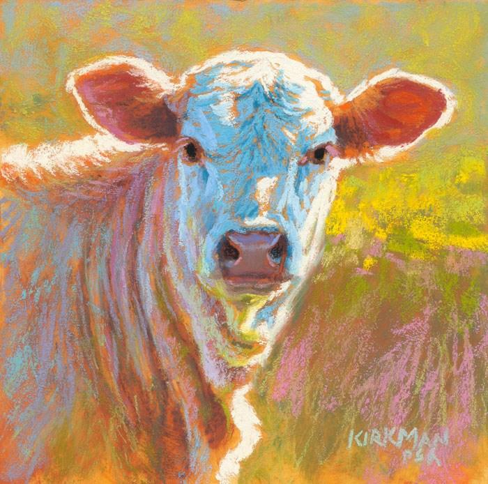 """Yoghurt"" original fine art by Rita Kirkman"