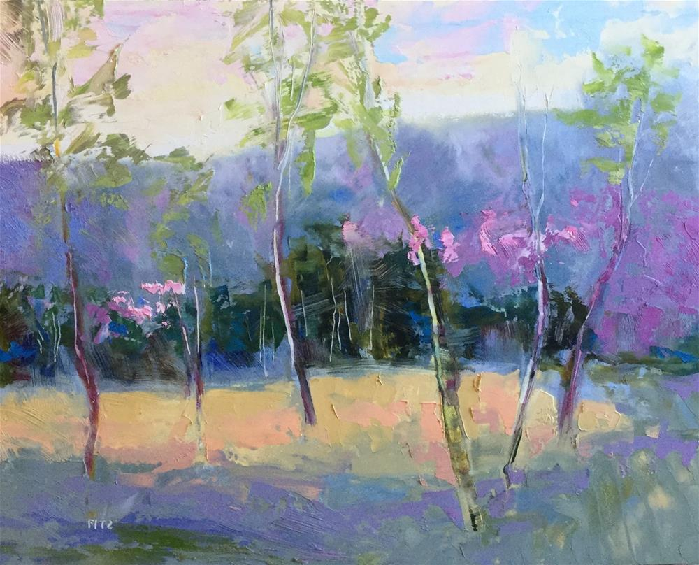 """""""Valley Remembered"""" original fine art by Charlotte Fitzgerald"""