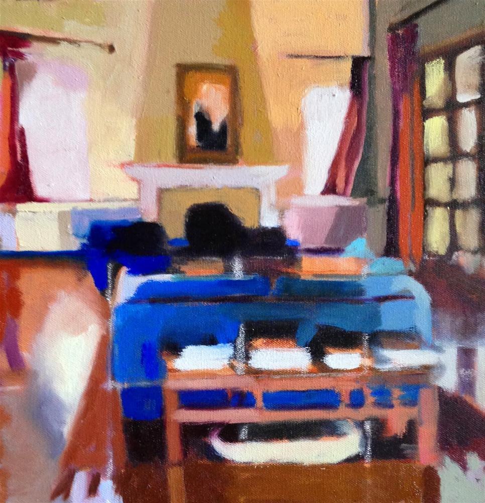 """Quotidian # 7"" original fine art by Pamela Hoffmeister"