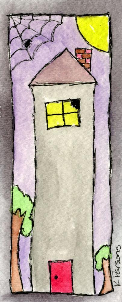 """Haunted"" original fine art by Kali Parsons"