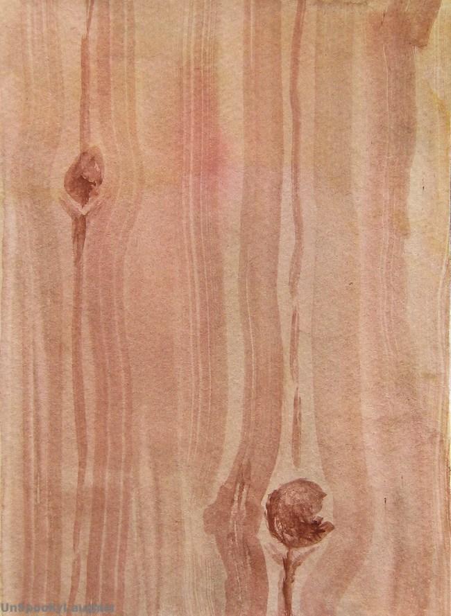 """""""Daily Card #46"""" original fine art by A.E.E. Miller"""