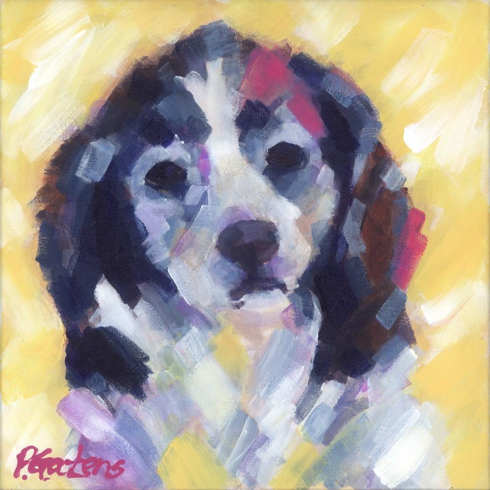 """""""Annie"""" original fine art by Pamela Gatens"""