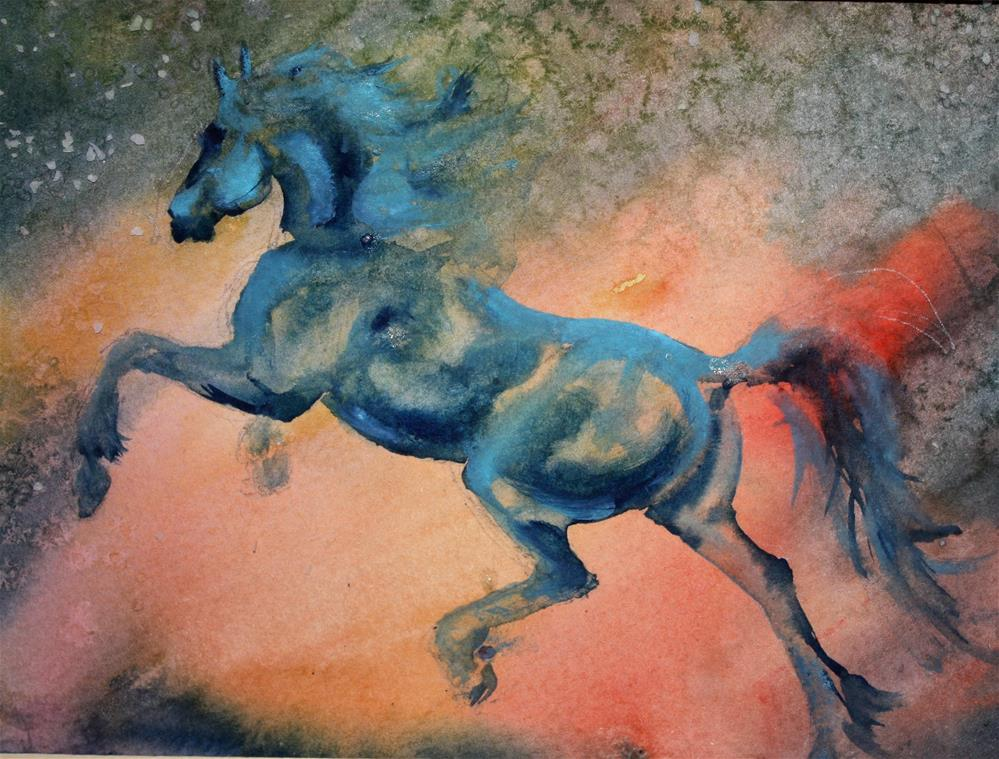 """""""Charged up"""" original fine art by Colleen Drury"""