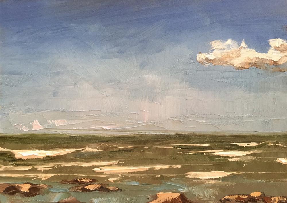 """Fresh Salty Air"" original fine art by Gary Bruton"