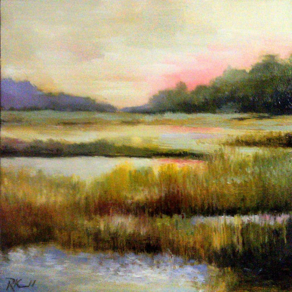 """The Wetlands"" original fine art by Bob Kimball"